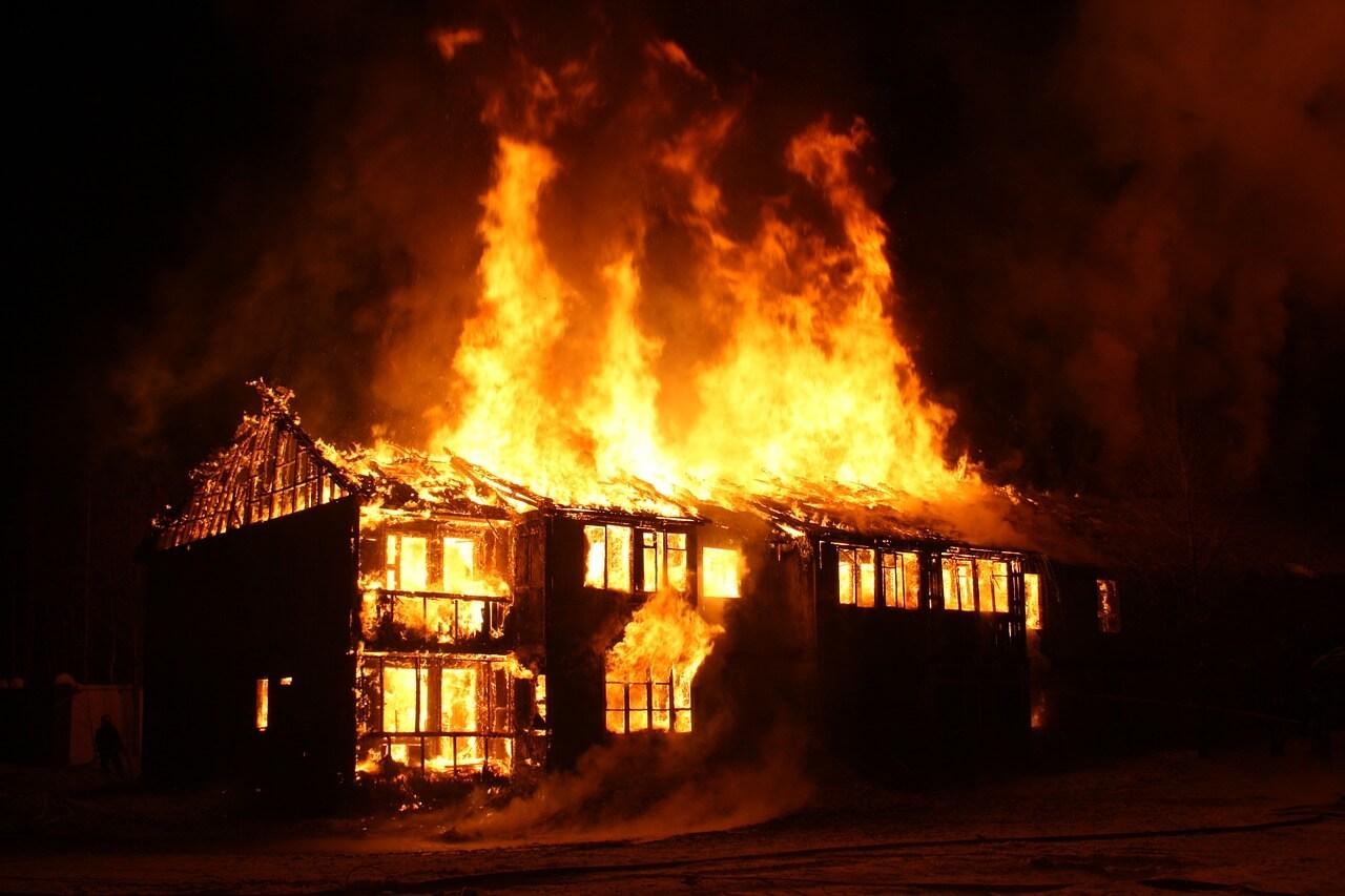 house fire, house insurance