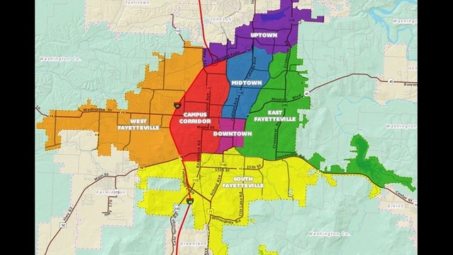 homes for sale, Fayetteville districts, Fayetteville map