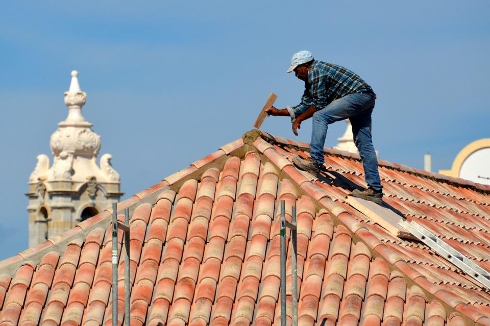 roofer, roof, damage